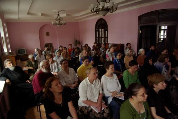 На семинаре по знаменному пению
