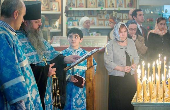 Панихида по жертвам Беслана в Москве