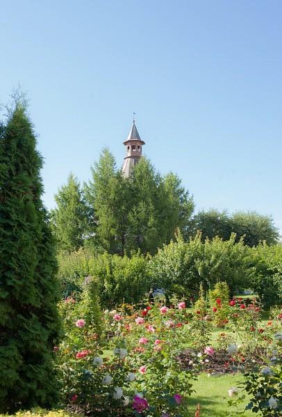 На месте уничтоженного в 20-ые годы прошлого века некрополя Новоспасского монастыря находится сад – причем не просто сад, а научная площадка ботанического сада, где собрана вся коллекция московских абрикосов