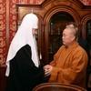 Патриарх Кирилл встретился с настоятелем монастыря Шаолинь