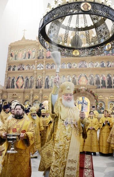 Освящение Феодоровского собора в Санкт-Петербурге