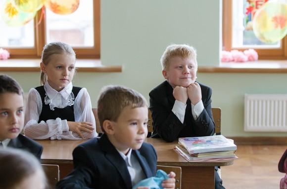 Первый в жизни настоящий школьный урок