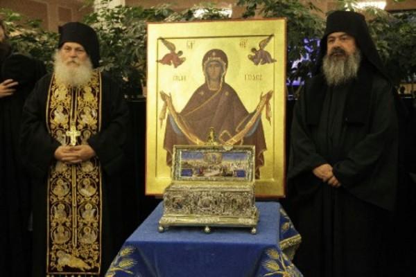 Церковь празднует положение честного Пояса Пресвятой Богородицы
