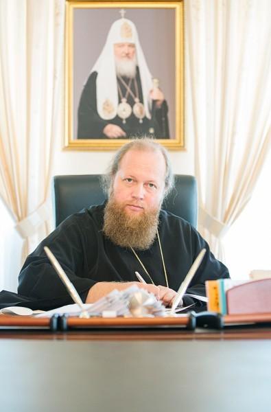 Наместник Новоспасского монастыря – Савва, епископ Воскресенский, викарий Святейшего Патриарха Московского и всея Руси