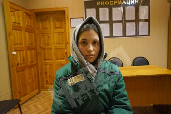 Надежда Толоконникова в ИК-14