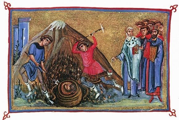 Усекновение главы Иоанна Предтечи. Первое обретение главы Иоанна Предтечи