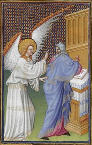Миниатюра из «Великолепного часослова герцога Беррийского»