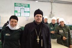 Визит священника в ИК-14: Толоконникова устала от игры, в которую ее втянули