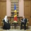 Президент Молдовы высоко оценил заботу Православной Церкви о жителях страны