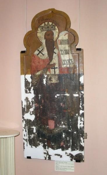 Икона «Порок Мелхиседек». XVII в.