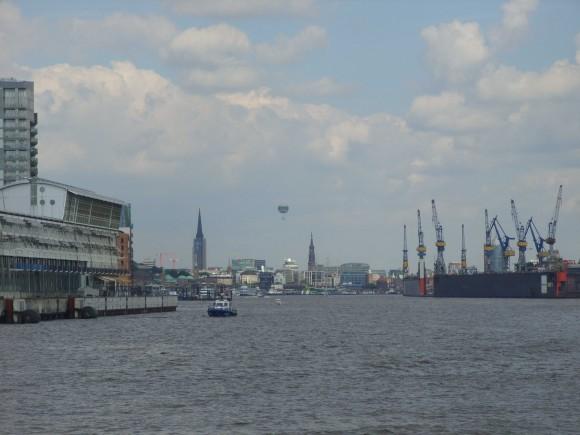 Гамбург. Эльба