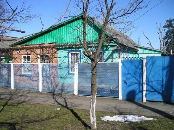 Дом, в котором живёт семья Иваненко