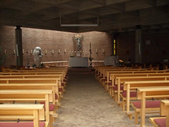 Люнебург. В этом зале проходят богослужения православной общины