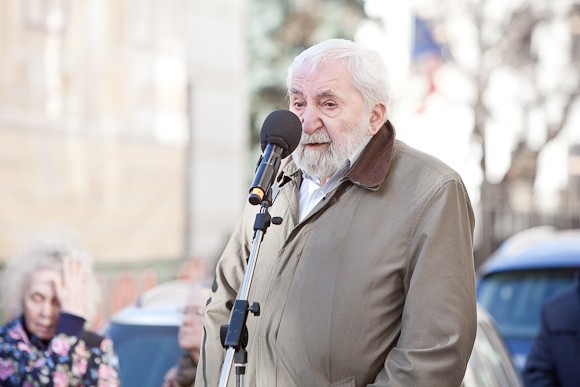 Представитель Русского ПЕН-центра Алексей Кириллович Симонов