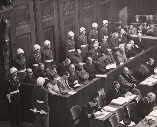 Нюрнбергский процесс. Фото: www.krugosvet.ru