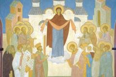 Покрый нас чудесным Твоим омофором! Песнопения на Покров Пресвятой Богородицы