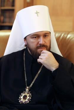 Митрополит Иларион уверен, что свобода - важнейшая ценность для Церкви. Фото: РИА Новости www.ria.ru