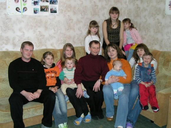 2008 год: в семье 10 детей