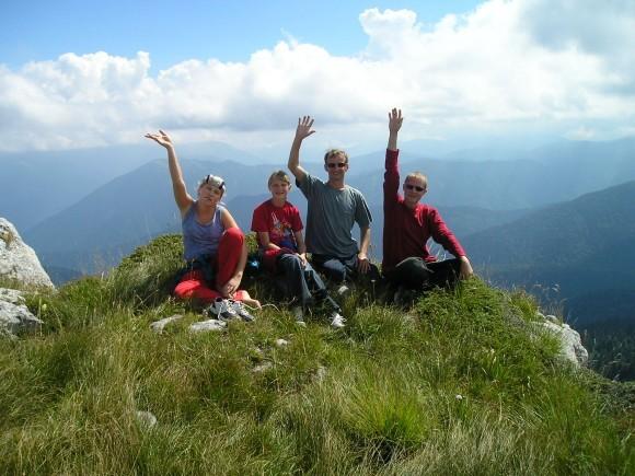 Первый поход в горы. Июль 2005 г.