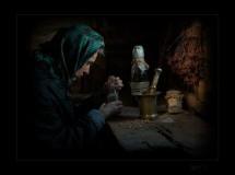 Знахарка. Фото: Игорь Литвиненко/photographers.com.ua