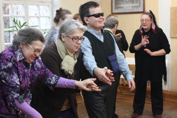 Крайняя слева — Наталья Владимировна Голован