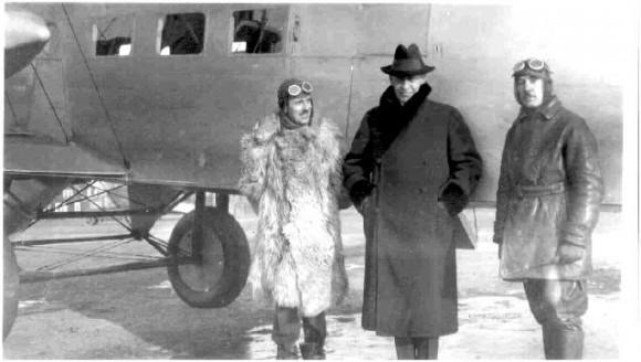 Сергей Рахманинов и Игорь Сикорский