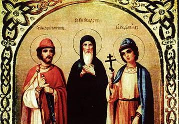 Православные отмечают  память святого благоверного князя Феодора Смоленского и чад его Давида и Константина