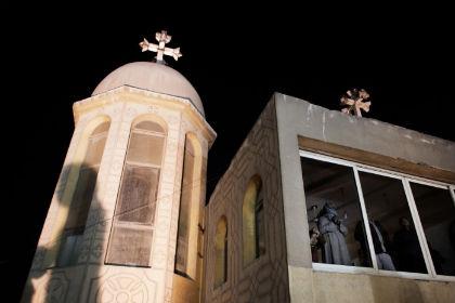 Коптский храм в Каире Фото: Marco Longari / AFP