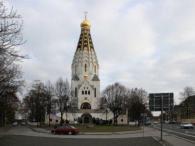 Свято-Алекссевский храм в Лейпциге. Фото: www.hamburg-hram.de