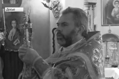 Священник Николай Меденцев, кадр Первого канала, архив
