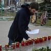У Соловецкого камня в Москве проходит акция памяти жертв политических репрессий