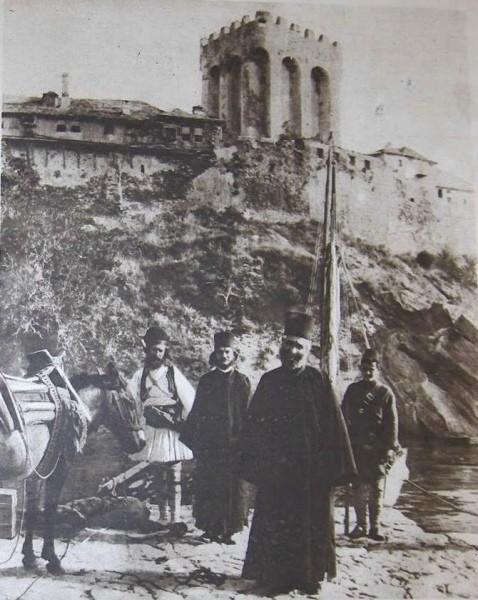 Арсана Великой Лавры, Афон, 1917
