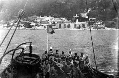 Французские боевые части на Афоне, 1918