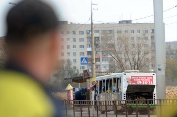 Взрыв в Волгограде. Фото: ИТАР ТАСС