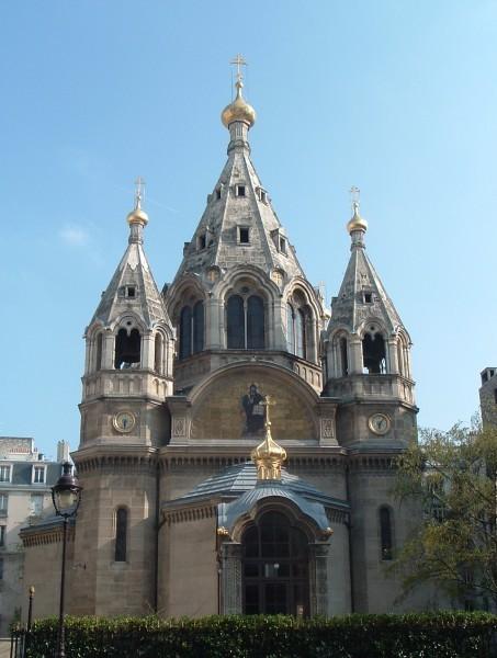 Париж. Собор св.Александра Невского (кафедральный собор Экзархата)