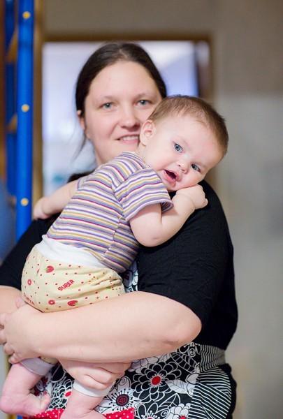Мама и Тёма, 9 месяцев