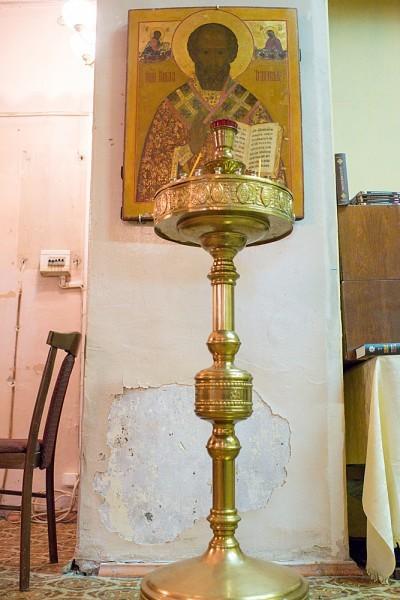 Единственная старинная икона - Свт. Николая Чудотворца