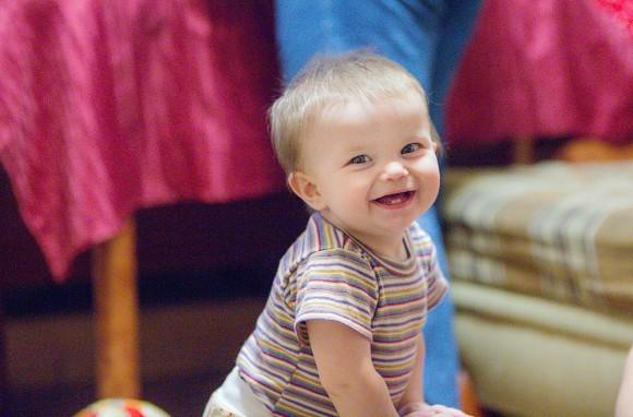 Артёмка, 9 месяцев