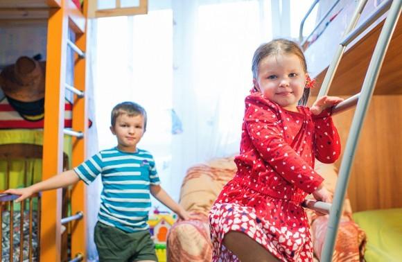 Арсений, 6 лет, и Ксения