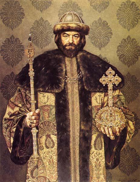 Борис Годунов. Автор: Сергей Присекин. 1993