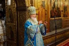 Патриарх Кирилл: Только разрушение веры отнимет от России Покров Царицы Небесной