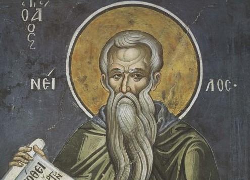 Церковь чтит память святого преподобного Нила Постника