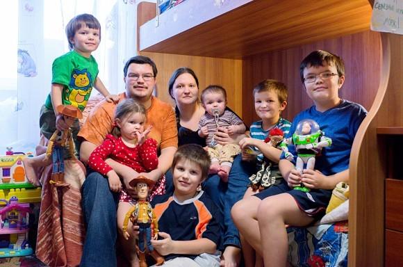 Шестеро детей вместо физфака МГУ