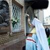В Издательском совете освящена мемориальная доска в честь митрополита Питирима