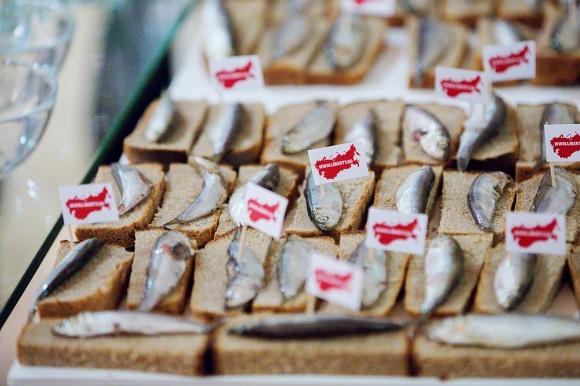 Торт – бутерброды с селедкой