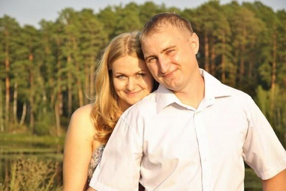 Михаил Малинников с супругой. Фото из социальных сетей
