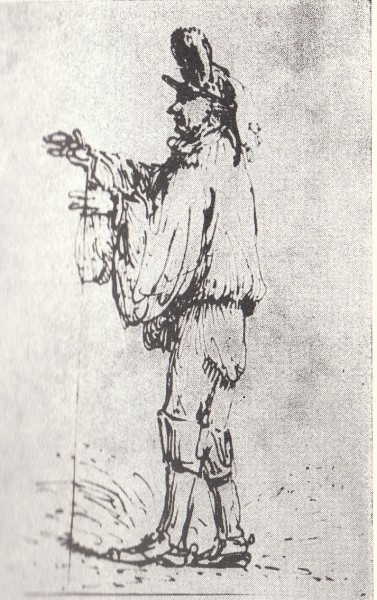 Таким зарисовал Суворова, покорителя Варшавы, французский художник Жан-Пьер Норблен