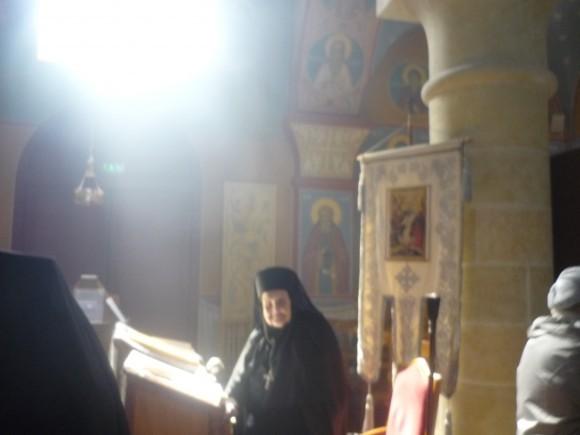 Игуменья Ольга в день памяти Константина и Елены, 2013 г. Фото из архива Михаила Можайского, Бюсси-ан-От