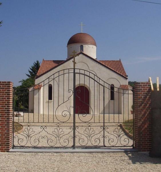 Церковь Преображения Господня. Фото из архива Михаила Можайского, Бюсси-ан-От