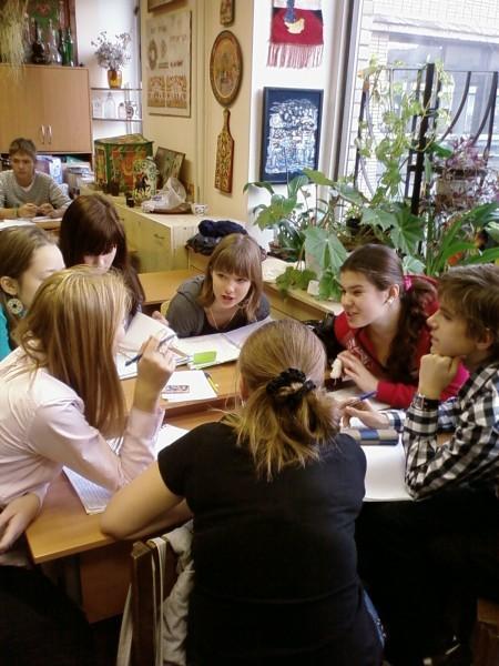Игры на уроках Натальи Боровской